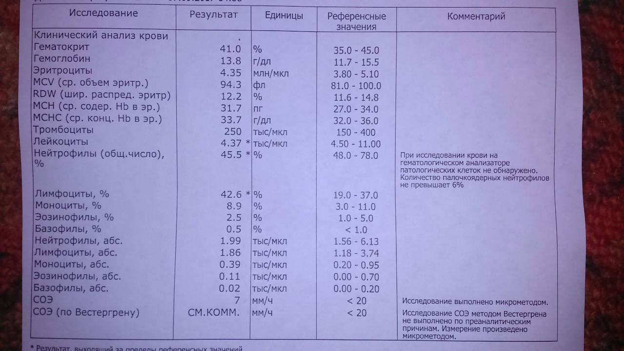 Гематокрит понижен при беременности - 1, 2, 3 триместр, норма, понижен, повышен, анализ крови