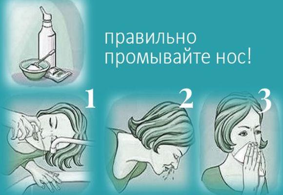 Чем промыть нос ребенку: средства для промывания при насморке и простуде
