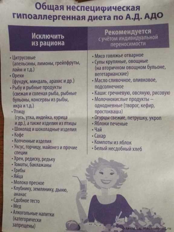 Диета при лямблиозе у взрослых и детей: меню с рецептами при лечении