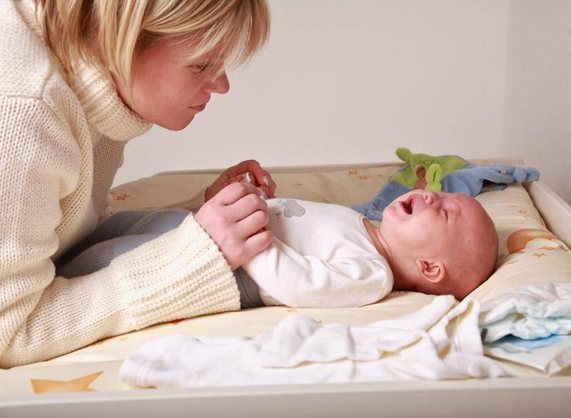 Запор у новорожденного при грудном вскармливании: что делать и как помочь