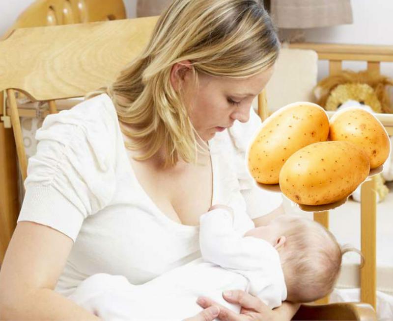 Можно ли запеченный картофель при грудном вскармливании - мамины новости