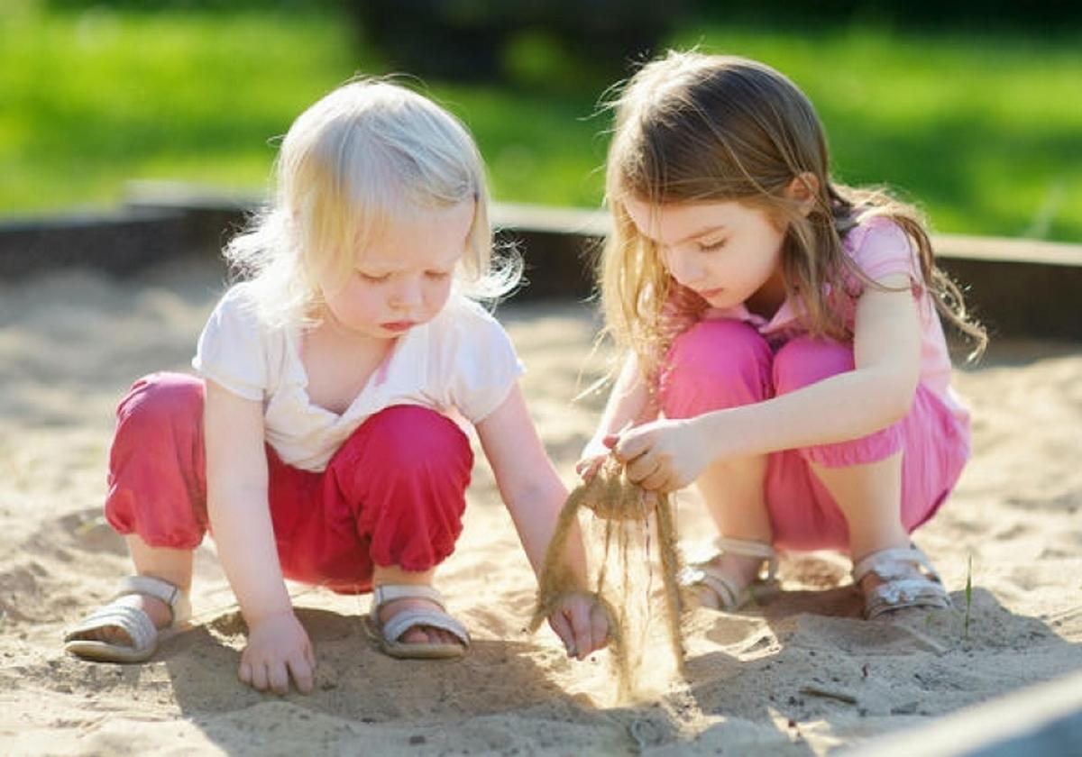 «жадные» дети на площадке