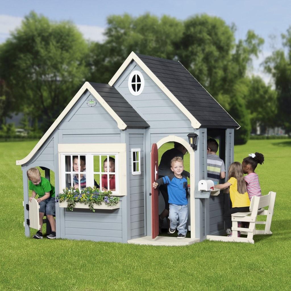 Детский игровой домик: виды и зачем он нужен?