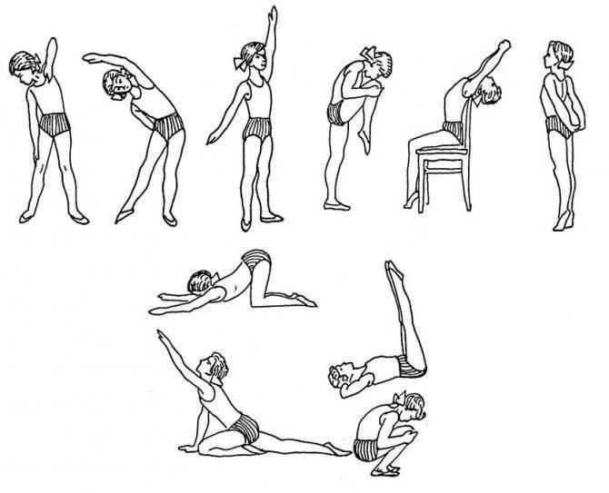 Упражнения при сколиозе позвоночника в домашних условиях: полный курс