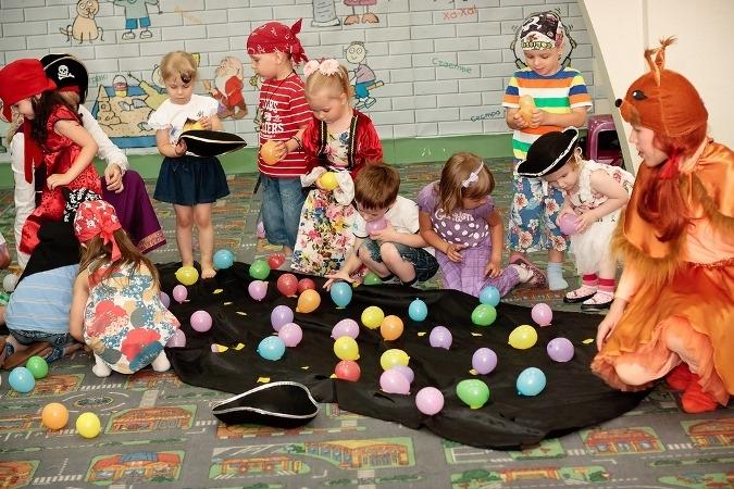 Умные коллективные игры для детского праздника - игры, развитие и обучение детей от 3 до 7 лет