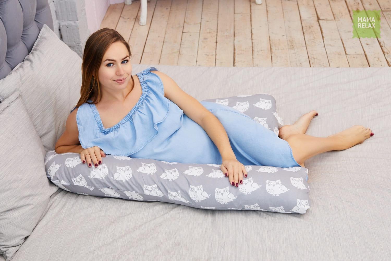 Подушка для беременных   уроки для мам