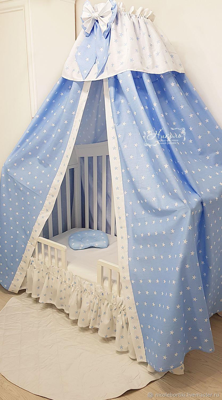 Балдахин на детскую кроватку своими руками: инструкция с фото