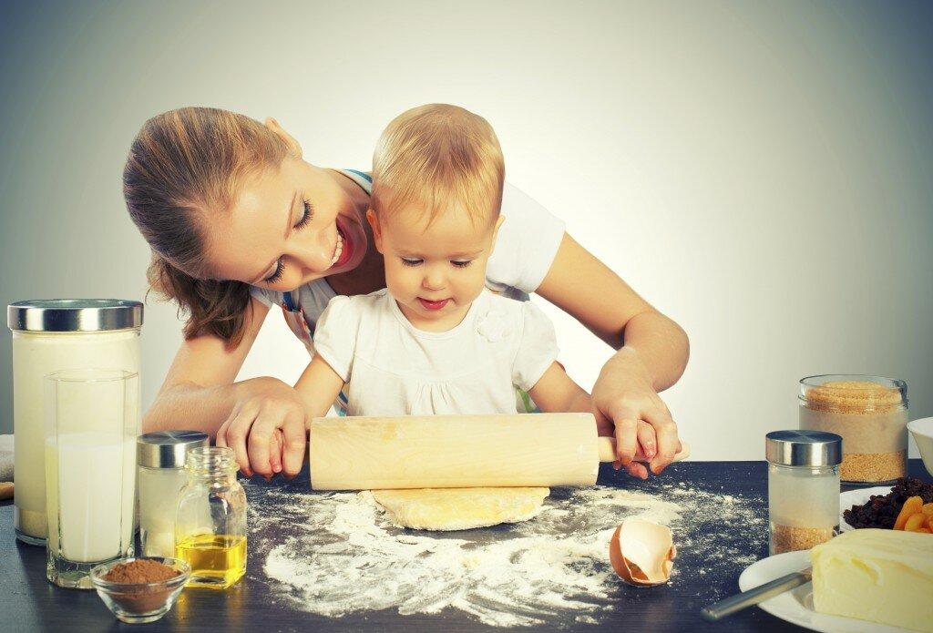 Чем занять ребенка на кухне? - страна мам