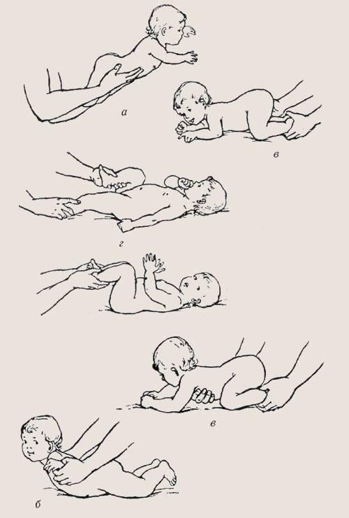 Как выложить младенца на живот правильно