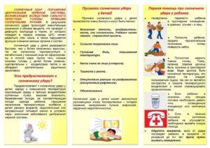 Тепловой удар: симптомы, первая помощь и лечение у ребёнка и взрослого