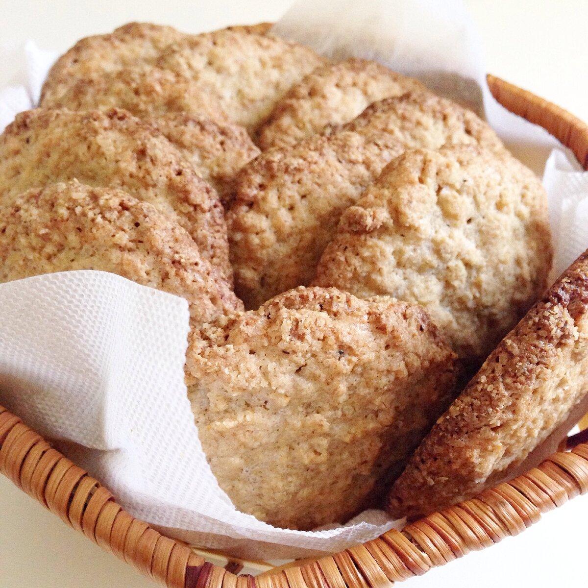 Детское печенье без сахара для самых маленьких с 6 месяцев