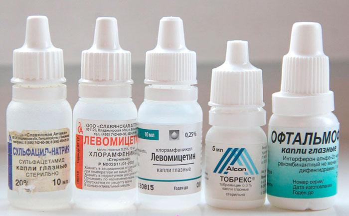 9 эффективных глазных капель для лечения конъюнктивита у детей