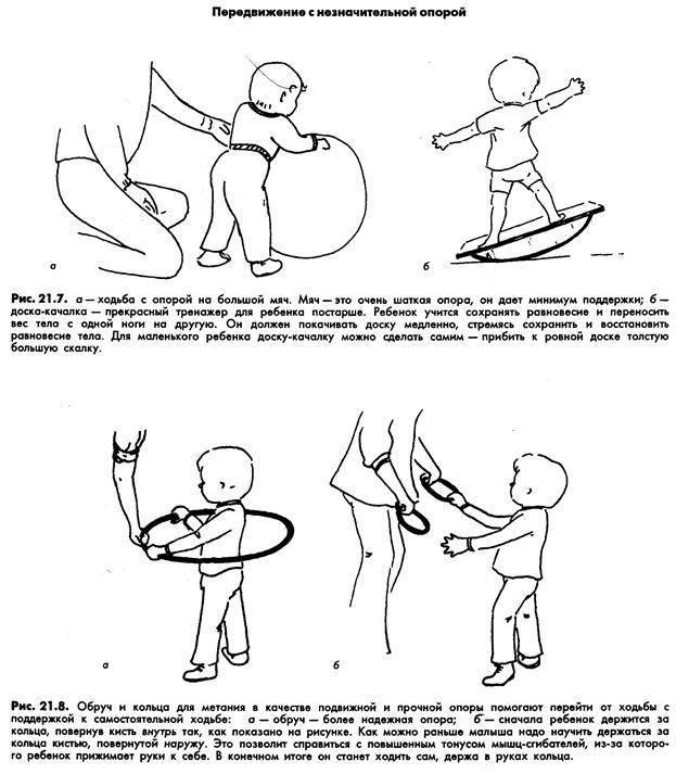 Как научить ребенка вставать на ножки без опоры