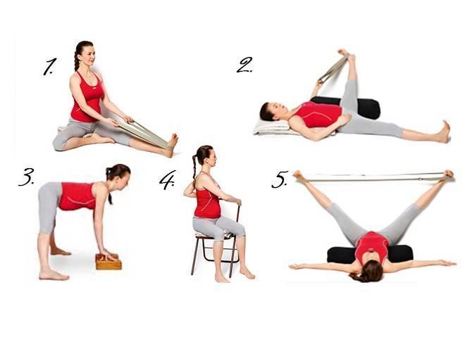 Гимнастика для беременных во втором триместре