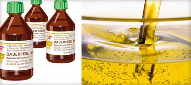 Способы применения масла вазелинового в домашних условиях