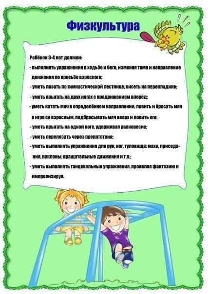 Что должен уметь ребёнок в 4 года: основные навыки и возможности малыша